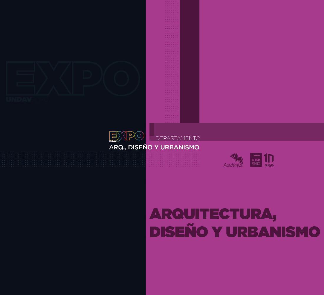 Departamento de Arquitectura, Diseño y Urbanismo